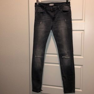 Used Zara Grey Premium Denim